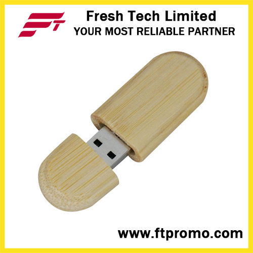 Bamboo&Wood Style USB Flash Drive for Eco-Friendly