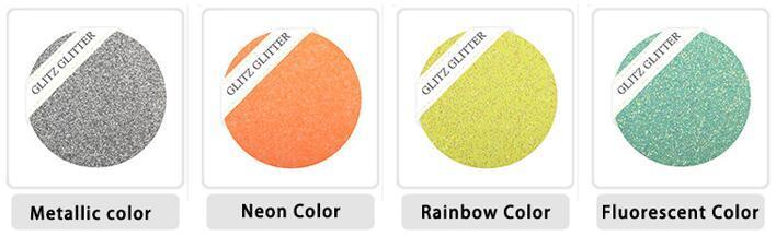 Very Attractive Nail Biodegradable Glitter Powder