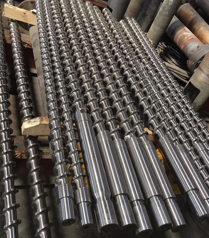 Bimetallic Screw and Barrel for Blowning Film Machine