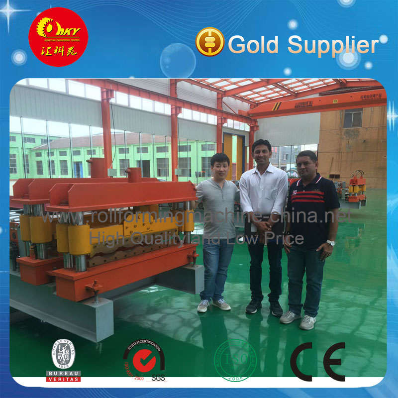 Hky Automatic Color Metal Roof Rolling Machine