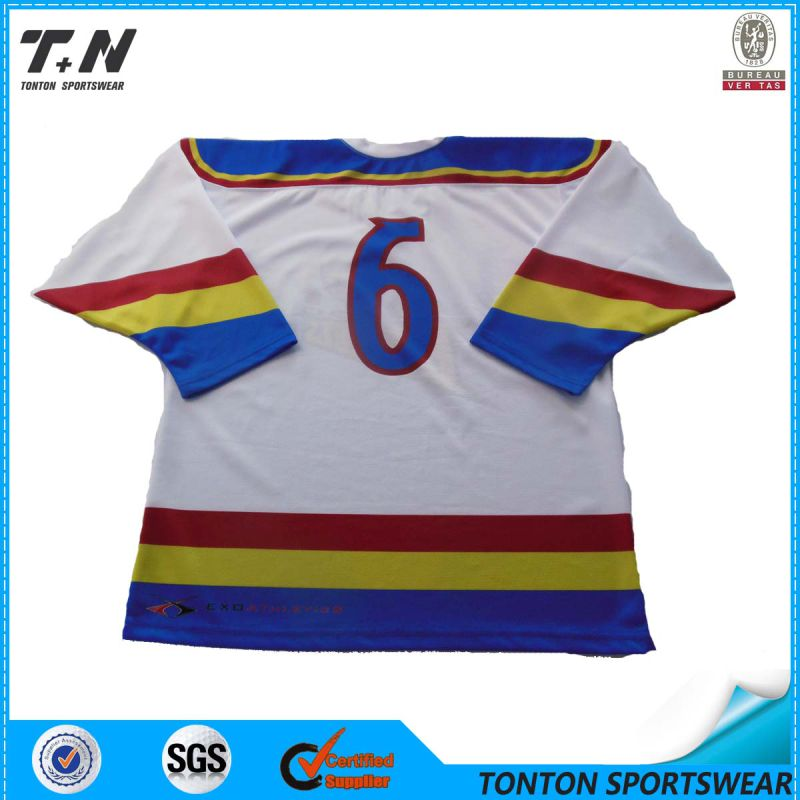 2015 Cheap Vintage Custom Ice Hockey Jersey for Team (IC02)