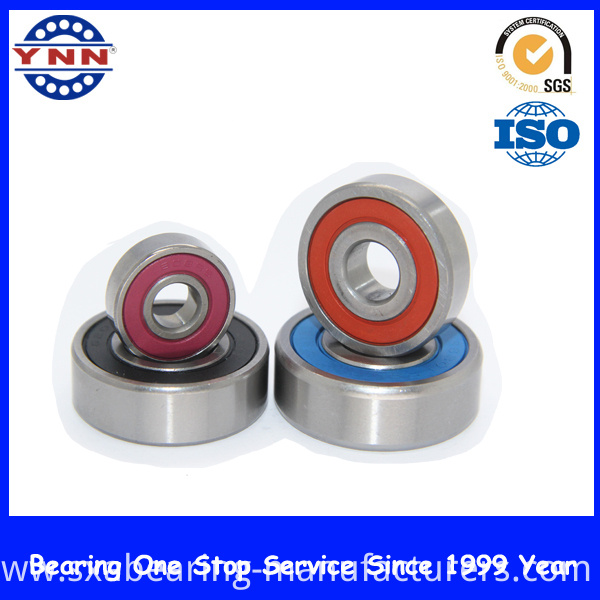 Auto Parts Colors Deep Groove Ball Bearing for Rubber Seals