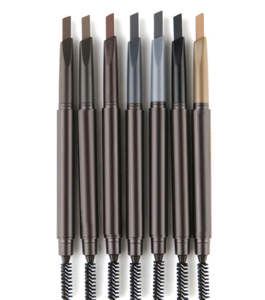 Monochrome or multi-color eyebrow pencil