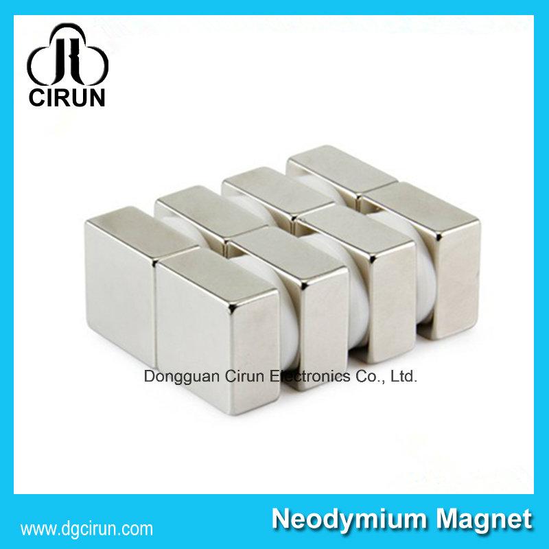 Custom Block Shape N35 Strong Neodyium Magnet for Windmill