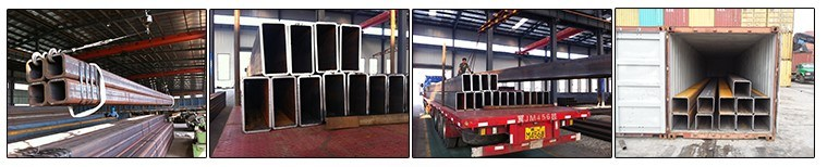 Black Iron/Steel Pipe/Tube Square and Rectangular Hollow Sections ASTM, JIS Standard Tube 8 China Supplier