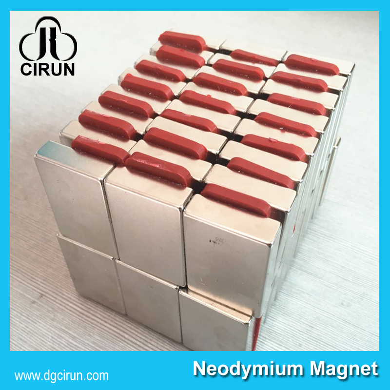 China Manufacturer Super Strong High Grade Rare Earth Sintered Permanent Magnetic Box Magnet/NdFeB Magnet/Neodymium Magnet