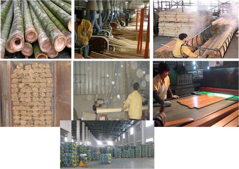 High Quality Cheap Natural Vertical Bamboo Flooring