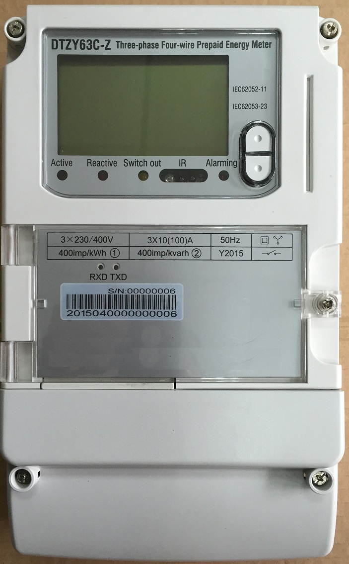 Three Phase Power Meter Ht-302