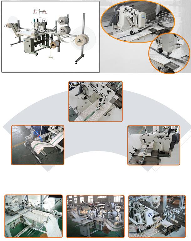 Mattress Sewing Machine for Mattress Zipper Sewing