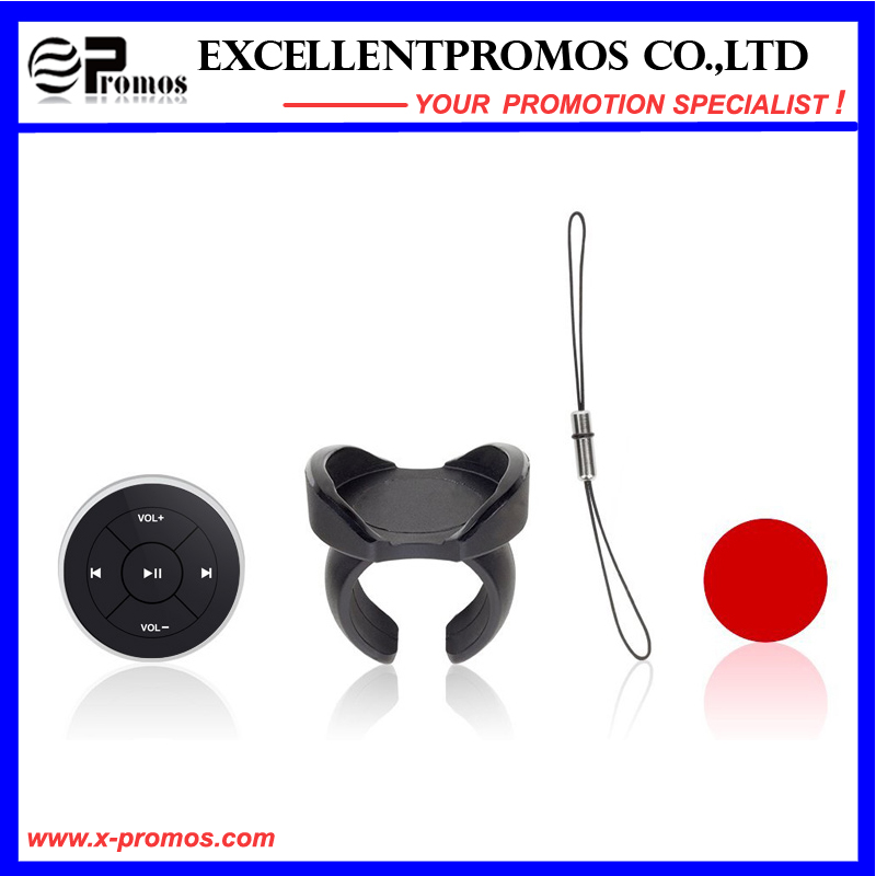 Bluetooth Media Button for iPhone 6 Plus/6/5s/5c, iPad Air 2/Air/Mini/3/2/1, Samsung Galaxy S6 Edge/S6/S5/S4/Note 4/Edge/PRO/Tab PRO, etc