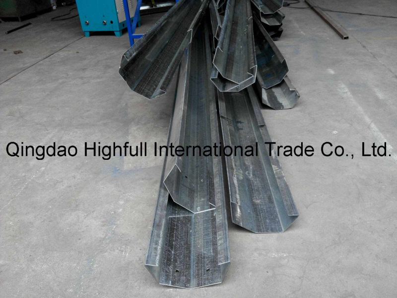 Half Round Color Steel Sheet Gutter Roll Forming Machine