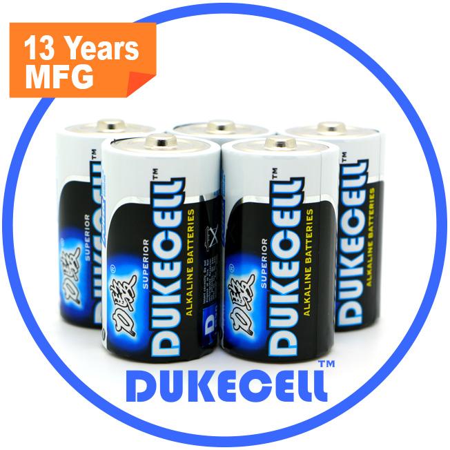 Hot Products D/Lr20 Alkaline Batteries with Foil Jacket AAA Alkaline Batteries