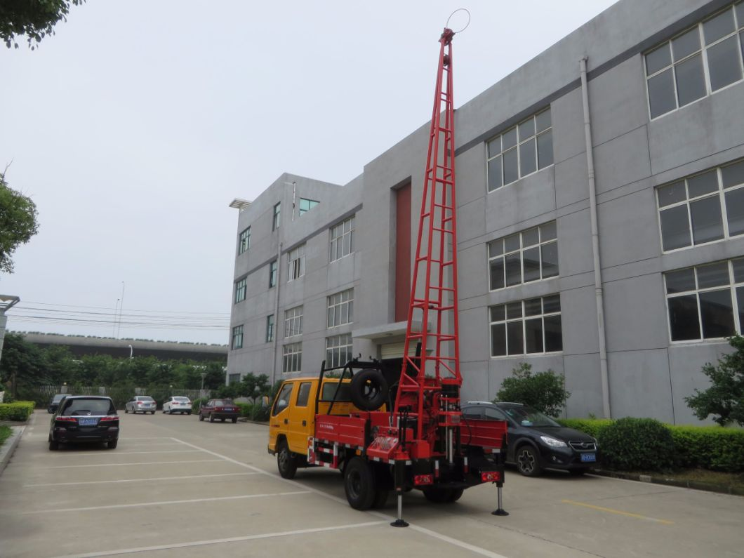 Gc-150 Truck Mounted Core Drilling Rig Investigation Spt Water Well