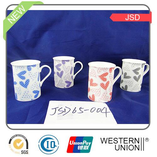 Nice New Bone China Coffee Mug