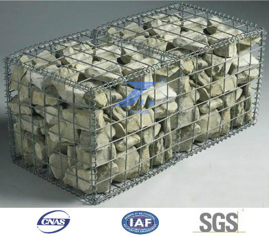 PVC Coated/Galvanized/Gabion Box Gabio/ Gabion Stone