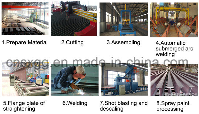 Welded H Beams From China Manufacturer