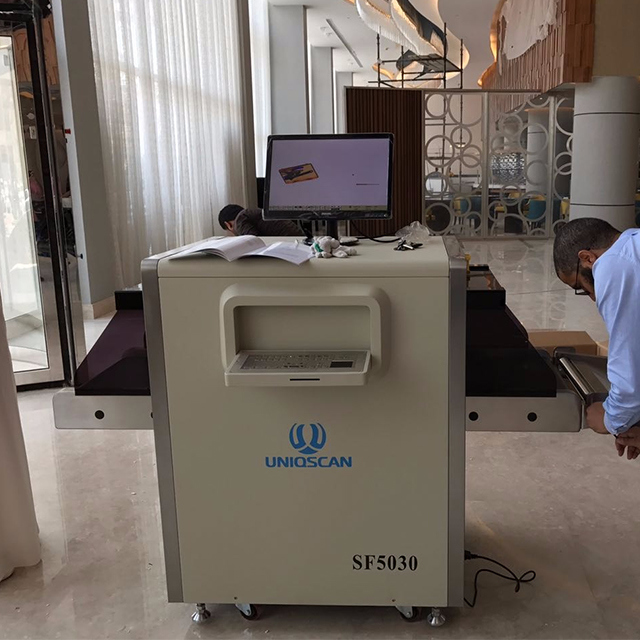 Security Check X Ray Parcel Scanner, Security X-ray Baggage Scanner for Governement Department