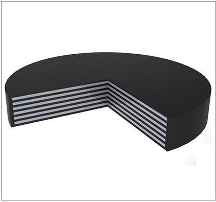 Elastomeric Bearing Pad Used for Bridge Construction