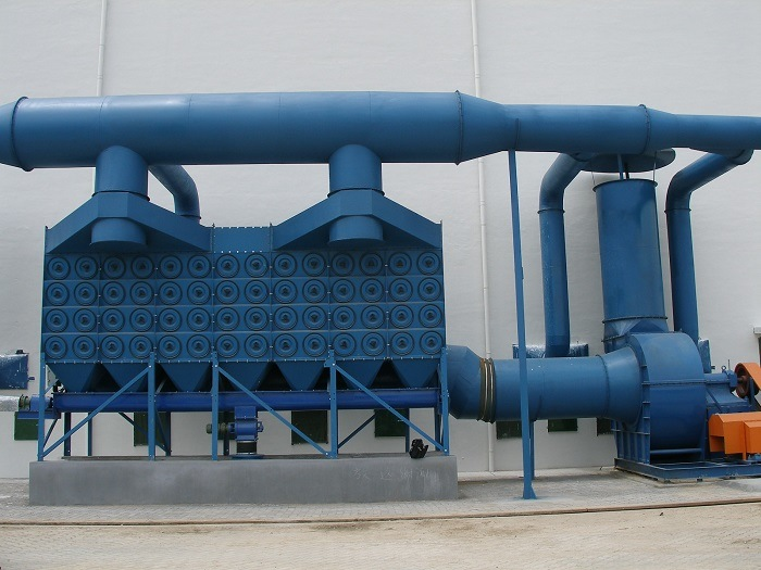 Cartridge Dust Collector Device with SGS - Industrial Pollution Dust