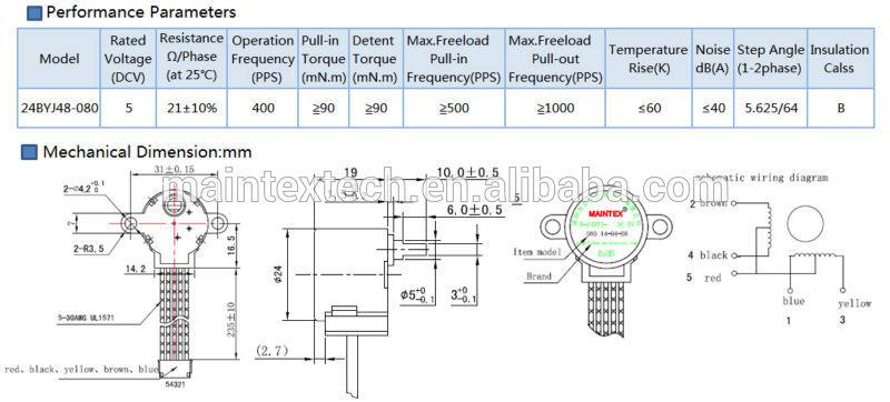 non captive linear actuator stepper motor, stepper motor with gearbox, stepper motor