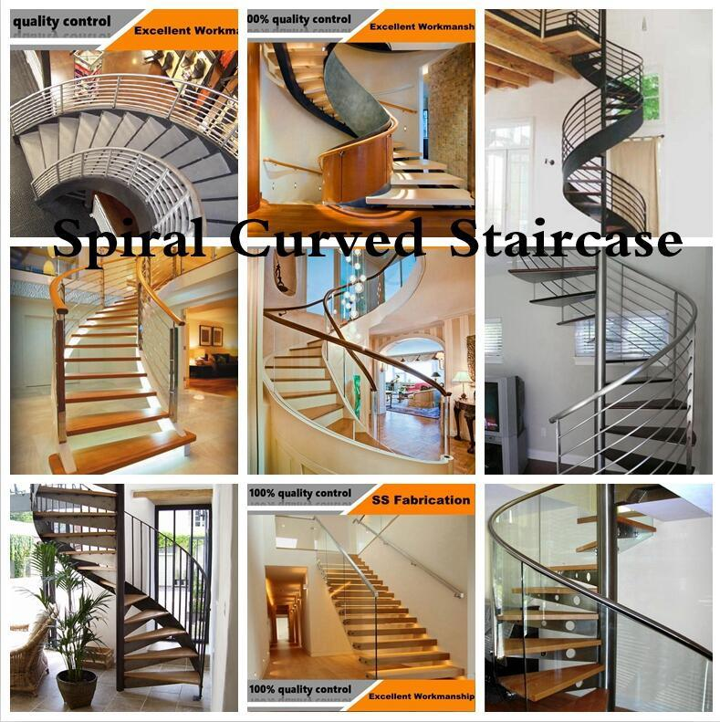 Indoor Bar Balustrade for Stair Railing Stainless Steel Handrail Material