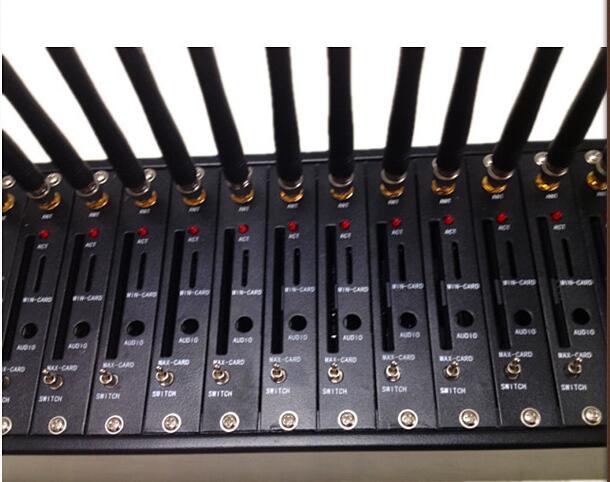 16 Ports GSM/GPRS SMS Modem USB Modem Multi Port GSM Modem /GSM SIM Box VoIP Gateway