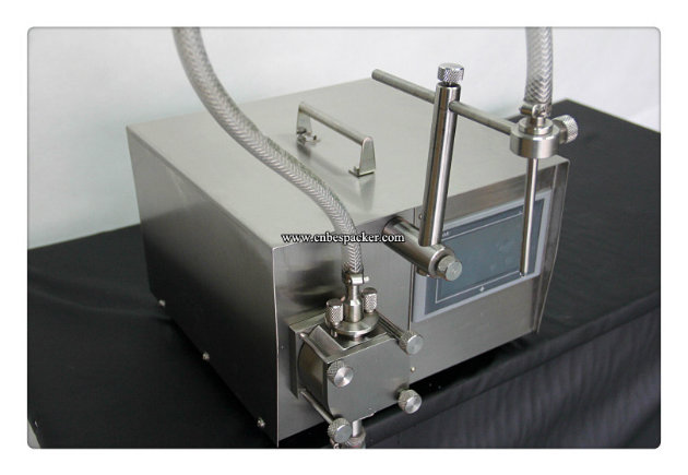 Electric Gear Pump Small Juice Filling Machine