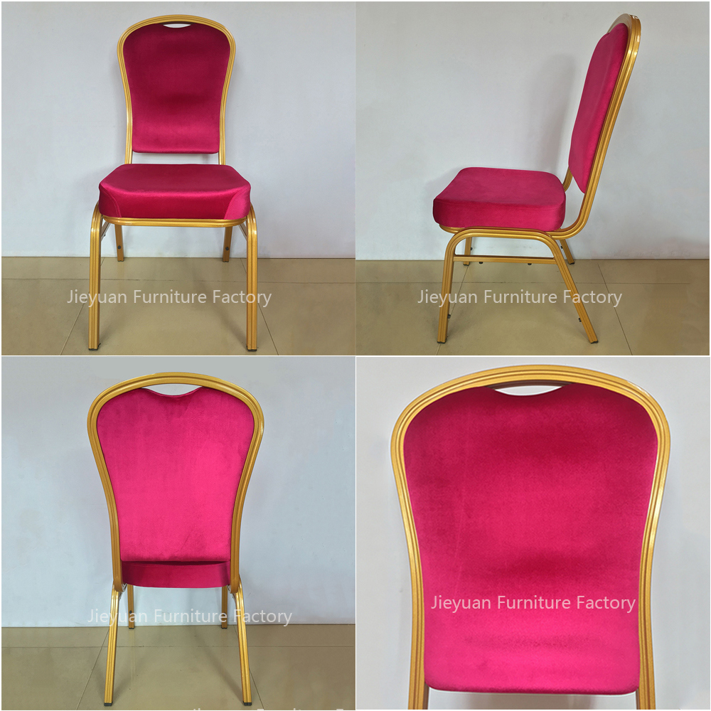Elegant Stacking Hotel Banquet Room Hall Dining Chair (JY-B50)