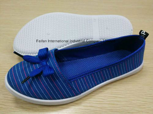 Newest High Quality Lady's Canvas Shoes FF727-7