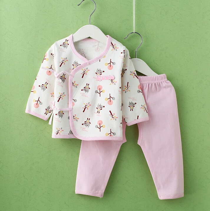 Combed Cotton Printed Newborn Baby Clothes