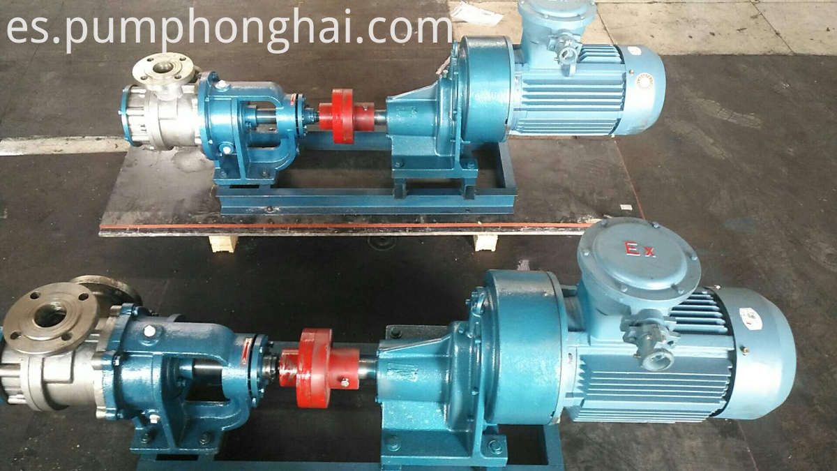 Stainless steel NYP series high viscosity gear pump