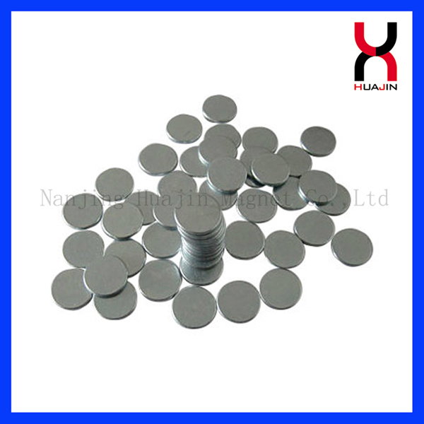 Disc Magnet with Zinc Coating Used in Speaker