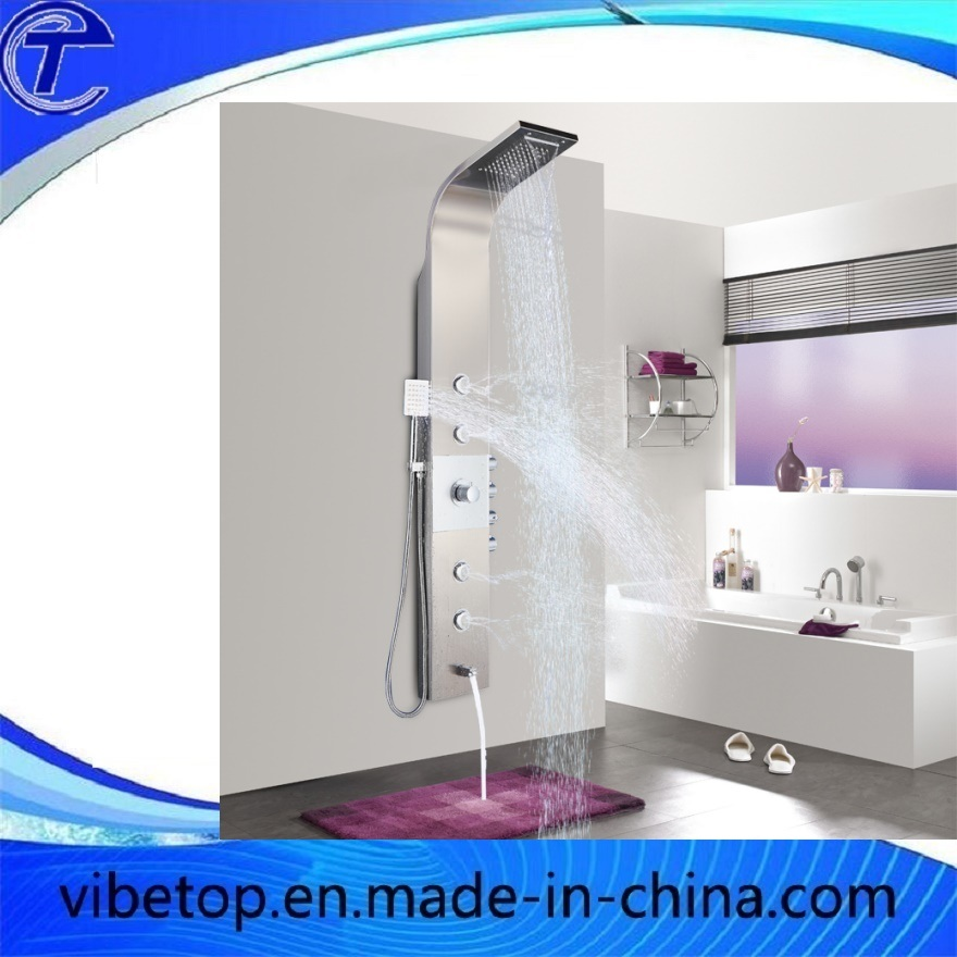 Wholesale Shower Head with High Quality Metal Shower Panel