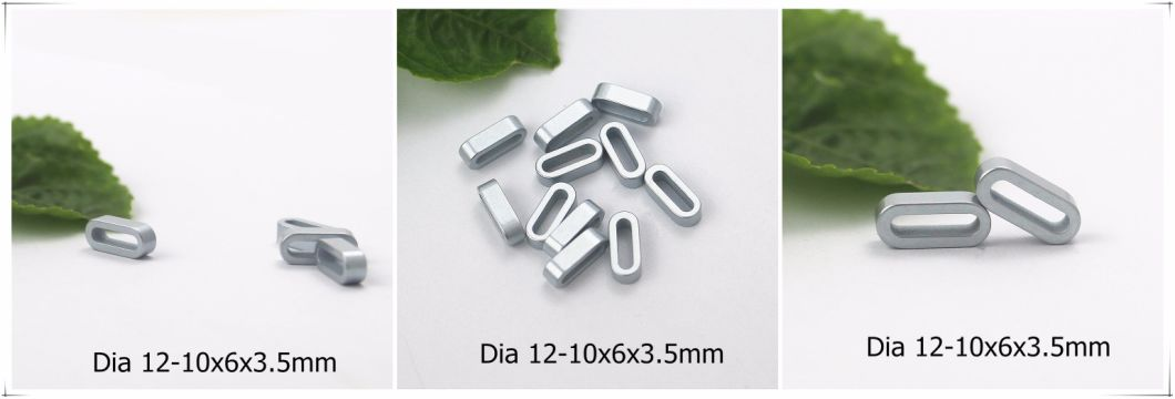 Customized Special Shape Neodymium NdFeB Permanent Sintered Magnet Zinc Coating
