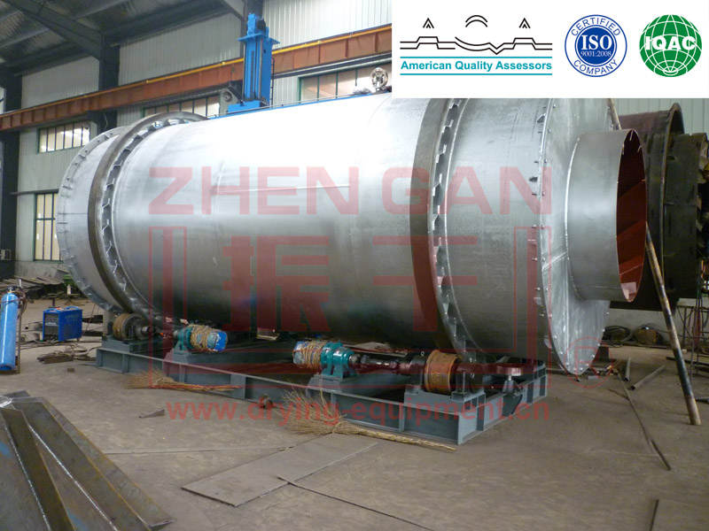 Drying Hzg Series Rotary Drum Dryer