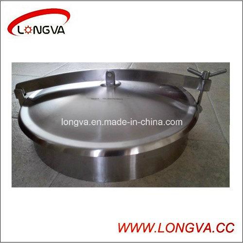 Sanitary Ss304 Non-Pressure Round Manhole