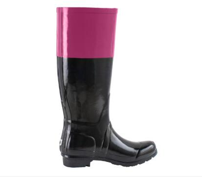 New Year Fashion Rubber Material Rain Boots