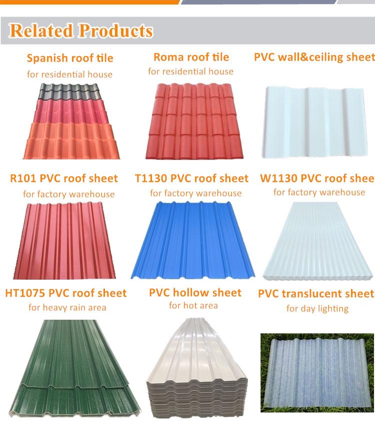 plastic roof panels
