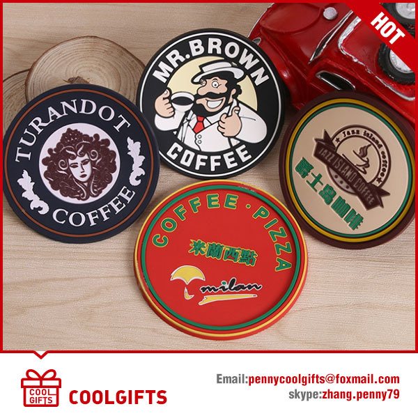 Cheap Promotional Gift Tin Cup Coaster for Christmas Gift
