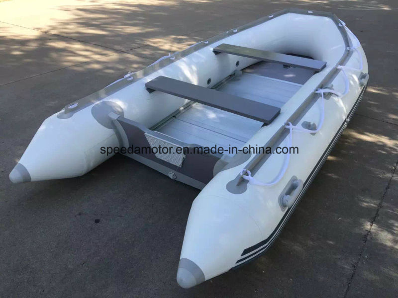 360 PVC Inflatable Motor Boat for Sale
