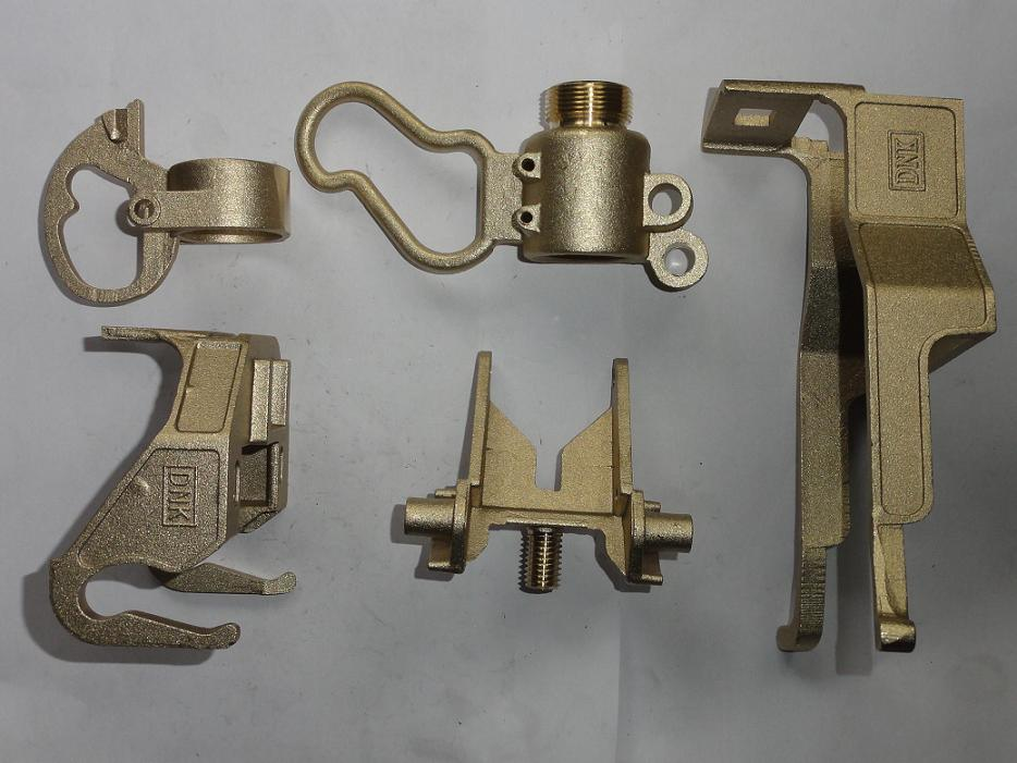 Polishing Cast Bronze Brass Copper Casting Products