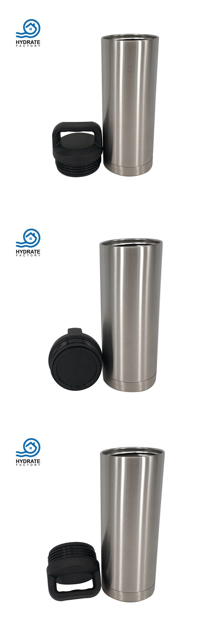 New Listing Hydro Vacuum Stainless Steel Thermos Sport Flask