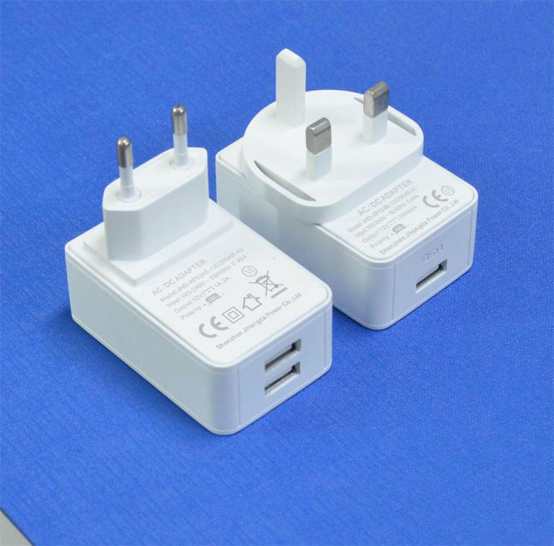 5V 2.4A Dual USB Type-C Charger 2 Port Wall Charger