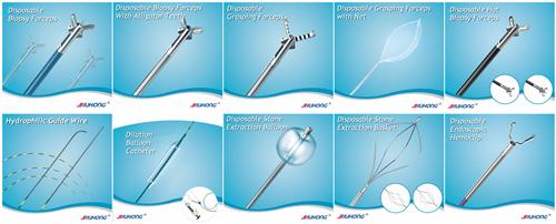 Single Use Foreign Body Snares for Polypectomy Retrieval in Endoscopy