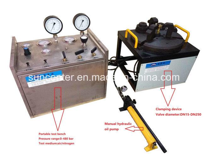 Suncenter Max 600 Bar Pressure Safety Relief Valve Test Bench