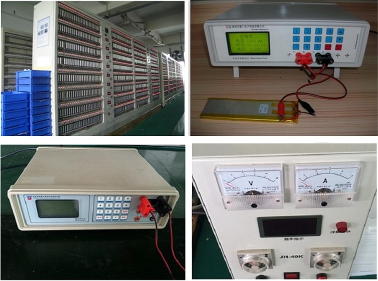 Li-Polymer Battery 3.7V 2000mAh 803461 Rechargeable Battery