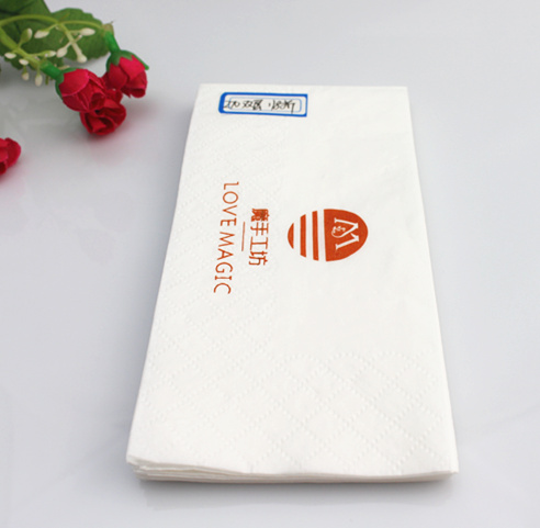 White Hotel Table Napkin