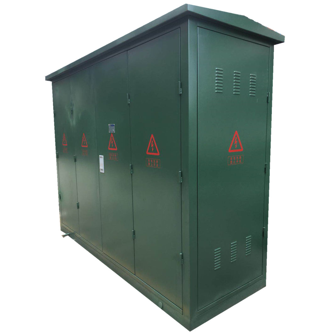 Dfw-12 Model High Voltage Metal Shell Substation Cable Distribution Box with Green Color
