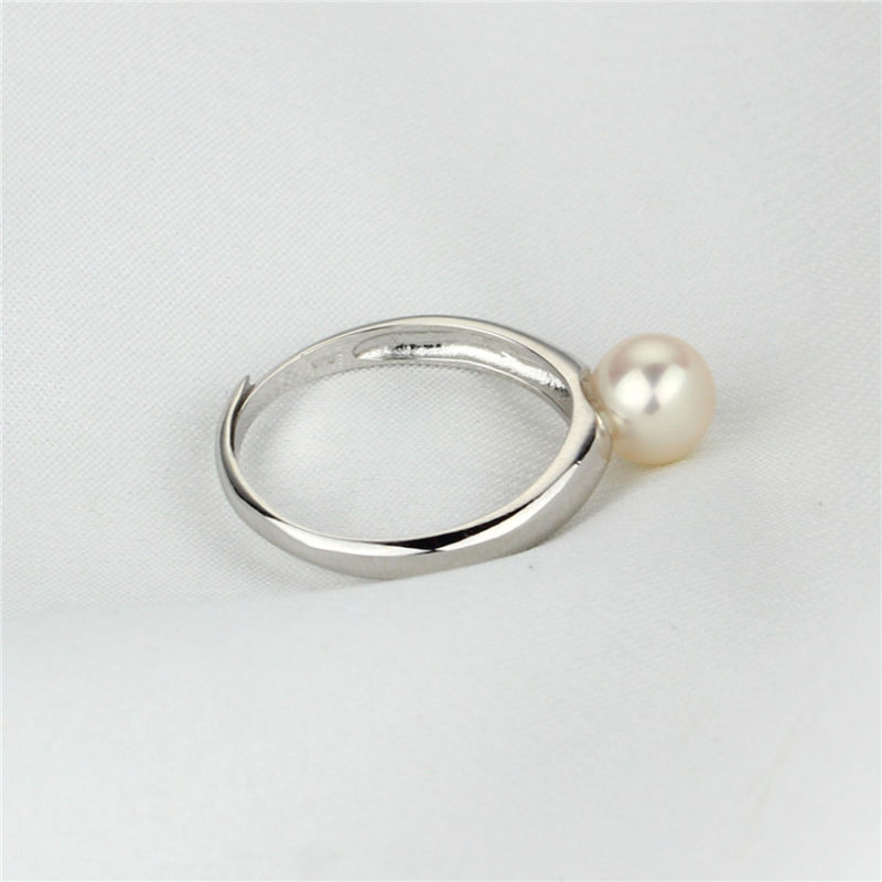 Adjustable Natural Freshwater Pearl Fashion Ring