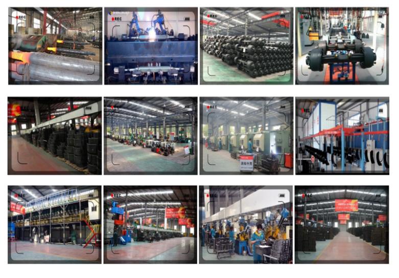 Factory Manufacturer Bogie Suspension of Trailer Boogie